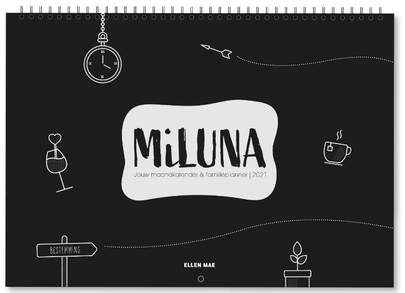,MiLuna Familieplanner 2021