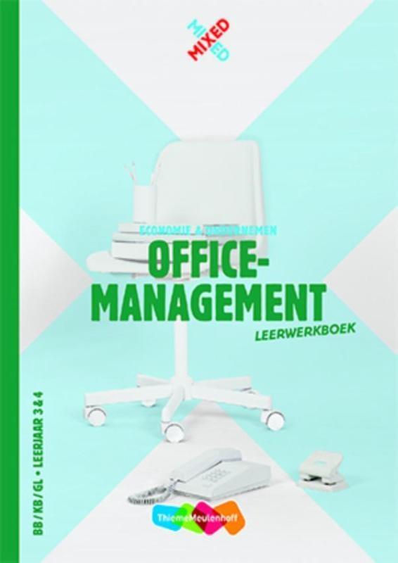 ,Officemanagement BB/KB/GL leerjaar 3 & 4 leerwerkboek
