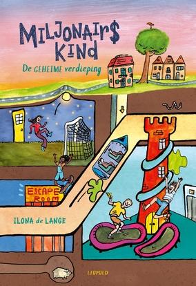 Ilona de Lange,Miljonairskind - De geheime verdieping