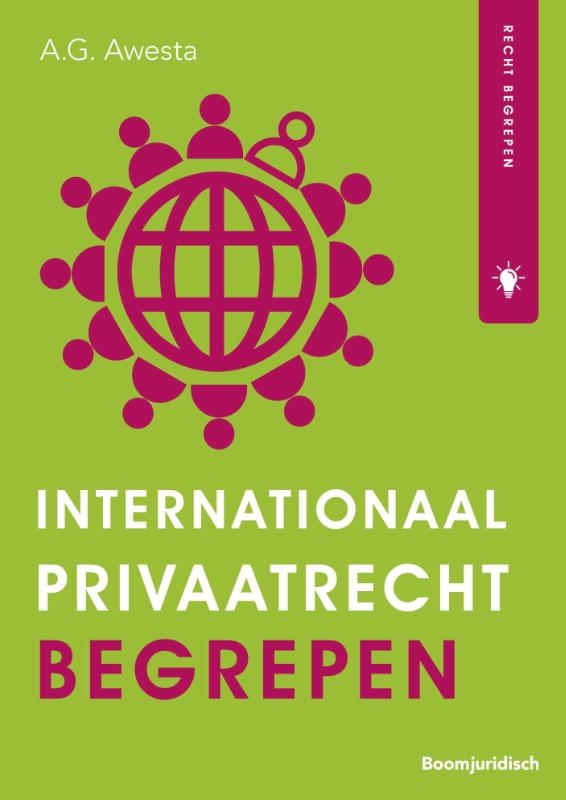 A.G. Awesta,Internationaal privaatrecht begrepen