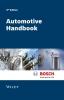 Bosch GmbH, Robert,Automotive Handbook