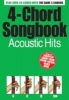 ,4-Chord Songbook Acoustic Hits Guitar Book