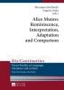 ,Alice Munro: Reminiscence, Interpretation, Adaptation and Comparison
