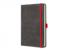 ,notitieboek Conceptum 194blz hard Vintage Dark Grey A5      gelinieerd