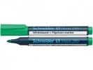 ,Viltstift Schneider 290 whiteboard rond groen 2-3mm