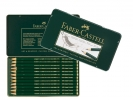 <b>Fc-119064</b>,Faber-Castell 9000 Design Set 12 Potloden 12 Hardheden