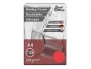 ,schutbladen ProfiOffice A4 270gr. karton 100 stuks leer rood