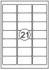 ,Etiket Quantore 63.5X38.1mm 315stuks
