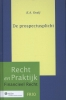 Katharina  Kralj,Recht en praktijk financieel recht De prospectusplicht