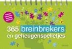 ,365 breinbrekers en geheugenspelletjes