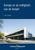 <b>G.J.M.  Corstens</b>,Europa en de veiligheid van de burger