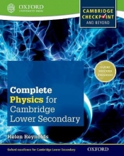 Reynolds, Helen Complete Physics for Cambridge Secondary 1 Student Book