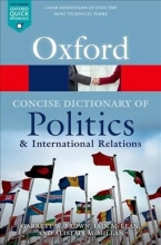 McLean, Iain Concise Oxford Dictionary of Politics and International Rela