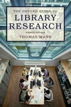 Mann, Thomas The Oxford Guide to Library Research