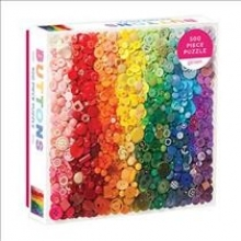 , Rainbow Buttons 500 Piece Puzzle