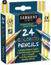 Pencil/24 Ct. Half Sized Color