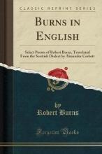 Burns, Robert Burns in English