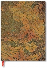 Pb fb7274-4 , Paperblanks notitieboek softcover ultra lijn hunter-lenox globe