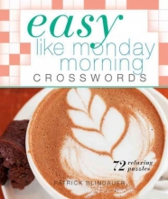 Blindauer, Patrick Easy Like Monday Morning Crosswords