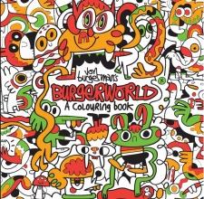 Burgerman, Jon Jon Burgerman`s Burgerworld