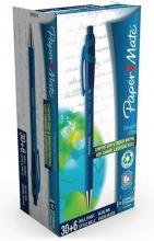 , Balpen Paper Mate Flexgrip Ultra blauw medium 30+6 gratis