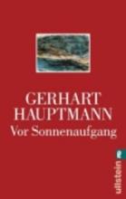 Hauptmann, Gerhart Vor Sonnenaufgang