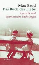 Brod, Max Das Buch der Liebe