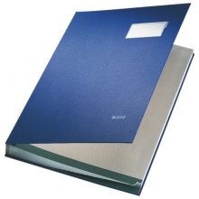 , Vloeiboek Leitz 5700 blauw