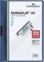 , Klemmap Durable 2200 A4 3mm blauw