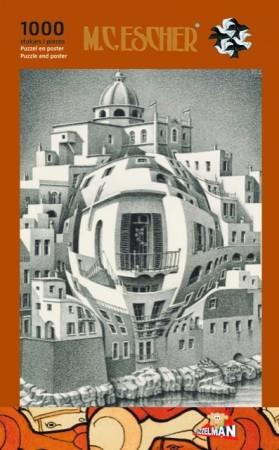 Puz-864,Puzzel balkon - m c escher  - 1000
