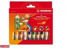 ,<b>Kleurpotloden STABILO Woody 880/10 etui à 10 kleuren</b>