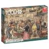 <b>Jum-17094</b>,De tentoonstelling - anton pieck - puzzel - jumbo - 1000 - 68x49