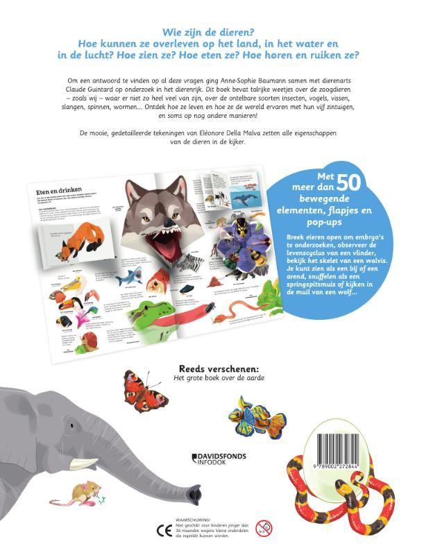 Anne-Sophie Baumann, Eléonore Della Malva,Mijn grote boek over dieren