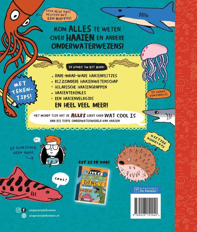 Mike Lowery,Alles wat cool is aan haaien