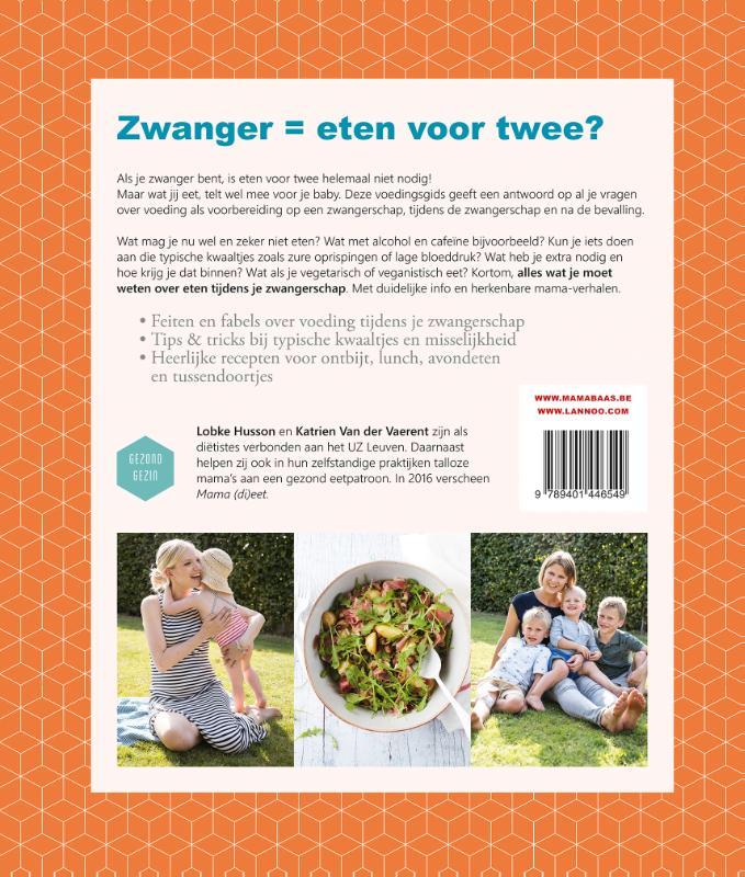 Lobke Husson, Katrien Van der Vaerent, Mama Baas,Eten als je zwanger bent