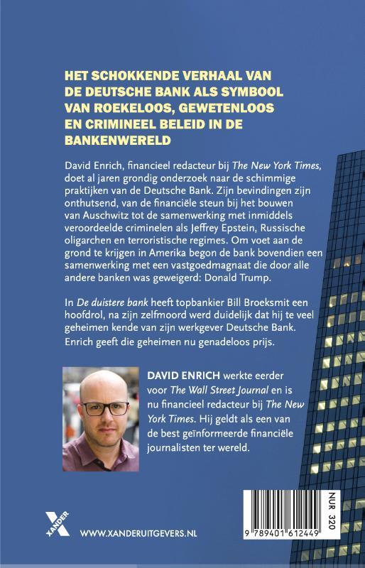 David Enrich,De duistere bank