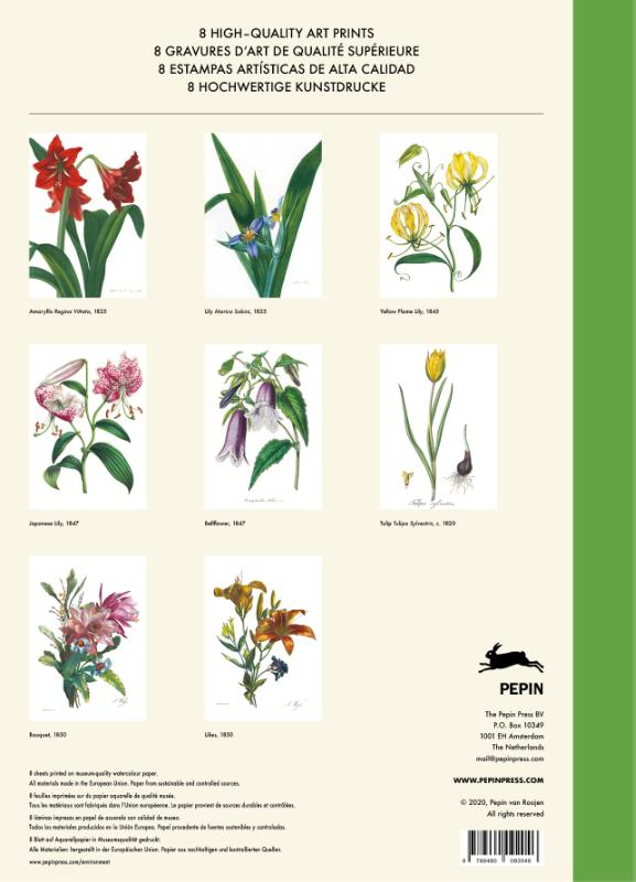 Pepin van Roojen,Flower Prints