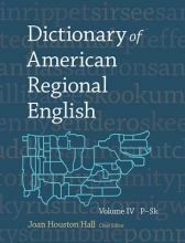 Hall, Joan Houston Dictionary of American Regional English