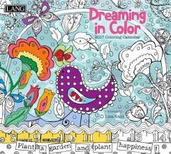 Dreaming in Color 2017 Coloring Calendar