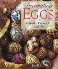 Jane Pollak Decorating Eggs