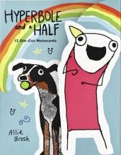 Brosh, Allie Hyperbole and a Half Die-cut Notecards