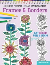 Valentina Harper,   Peg Couch Color Your Own Stickers Frames & Borders