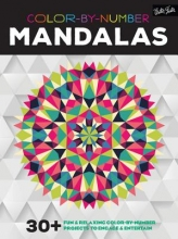 Color-by-number Mandalas