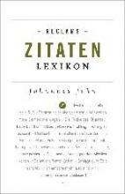 John, Johannes Reclams Zitaten-Lexikon