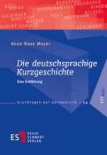 Meyer, Anne-Rose Die deutschsprachige Kurzgeschichte