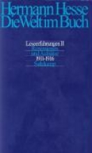 Hesse, Hermann Die Welt im Buch 2. Rezensionen und Aufstze 1911 - 1916