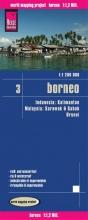 , Reise Know-How Landkarte Borneo 1 : 1.200.000. Kalimantan, Sabah & Sarawak, Brunei