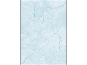 , designpapier Sigel A4 200grs pak a 50 vel graniet blauw