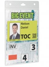 , Badge Durable voor evenementen A6 zonder koord