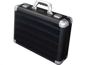 , Laptop koffer Alumaxx Venture aluminium zwart mat